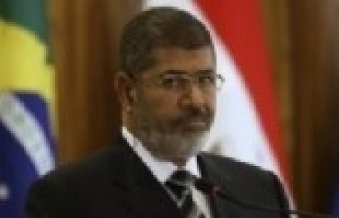 """""""مرسي"""" يصل قاعة المؤتمرات لإلقاء كلمة لتوضيح موقف مصر من """"سد النهضة"""""""