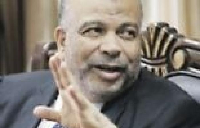 """الكتاتني وماضي في مقدمة مستقبلي """"مرسي"""" بقاعة المؤتمرات"""