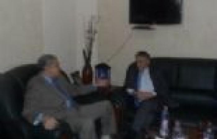 """""""صباحي"""" والسفير الإيطالي يبحثان سبل حل أزمة """"سد النهضة"""" الإثيوبي"""