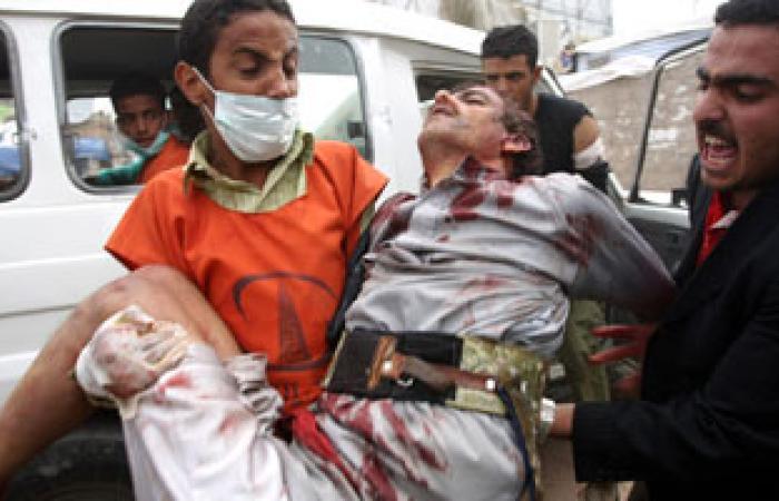 مقتل شخص وإصابة آخرين فى الاشتباكات مسلحة بتعز باليمن