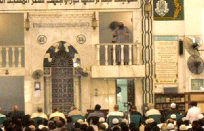 """خطيب مسجد بـ""""غارب"""" يصف مظاهرات 30 يونيو بالتخريبية"""