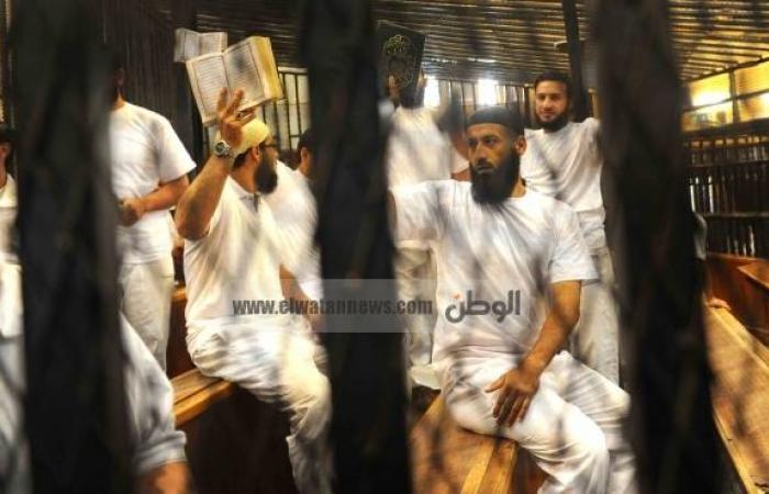 """تأجيل محاكمة 25 متهما في """"خلية مدينة نصر"""" لـ20 أغسطس لسماع الشهود"""
