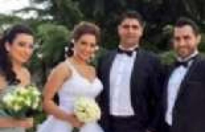 بالصور| المتسابق زياد خوري يحتفل بزفاف شقيقه