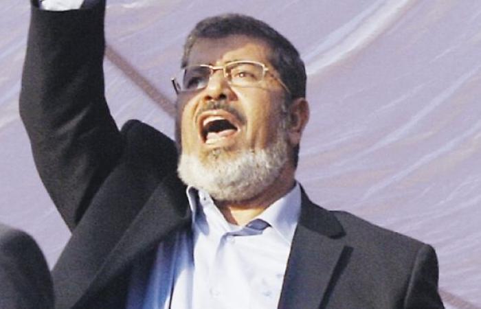 """مرسي: الشعب المصري ضد بشار الأسد.. ويؤكد: """"لبيك يا سوريا"""""""