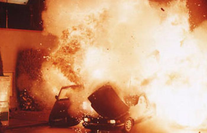 20 جريحا فى انفجار سيارة مفخخة قرب مطار المزة العسكرى فى دمشق