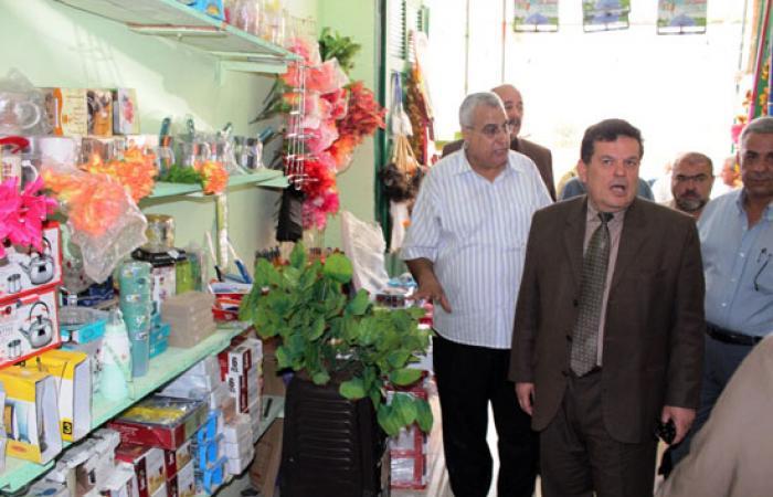 افتتاح معرض لمنتجات غزل المحلة بالعريش
