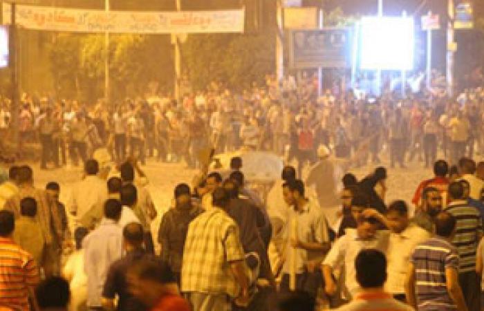 أهالى قرية محلة روح يحتجزون عددا من أنصار الإخوان المسلمين داخل مسجد