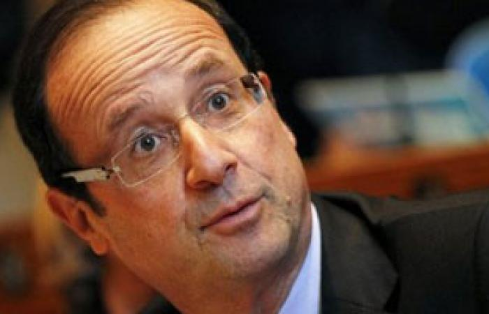 هولاند: فرنسا ترغب فى زيادة المساعدات للاجئين السوريين بالأردن
