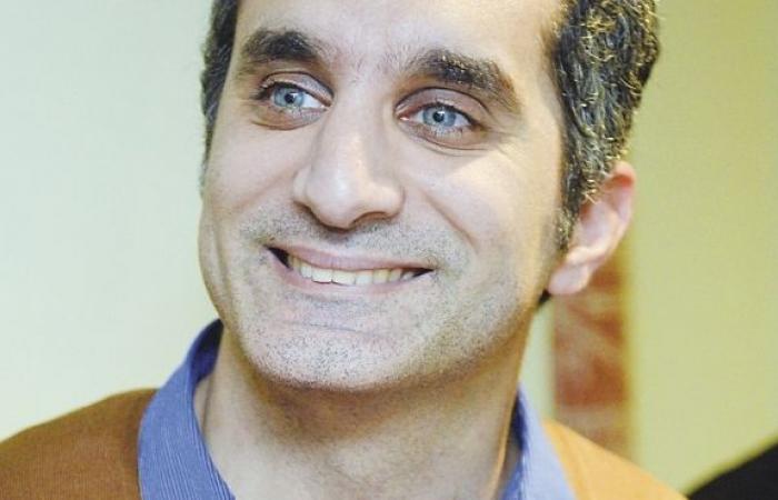 """باسم يوسف: خطاب الرئيس بدأ الأربعاء وانتهى الخميس ليفوت فرصة """"الشغل عليه"""""""