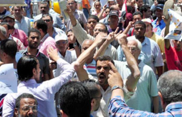 استنفار أهالى منطقة شارع بورسعيد بالمنصورة بعد أنباء عن تعرضهم لهجوم