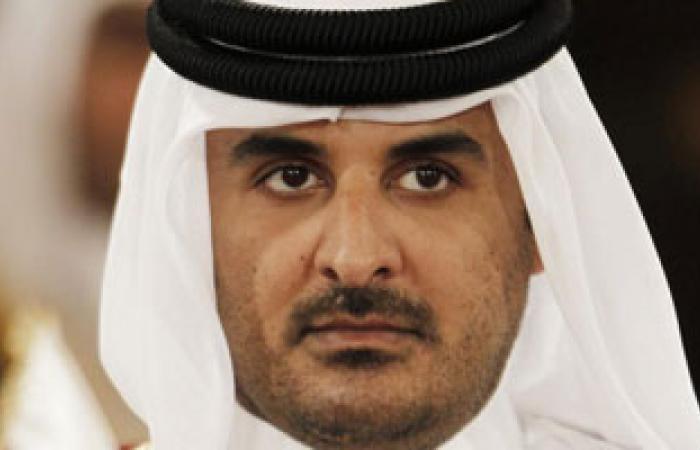 أمير قطر الجديد يلتقى الرئيس المؤقت للائتلاف السورى