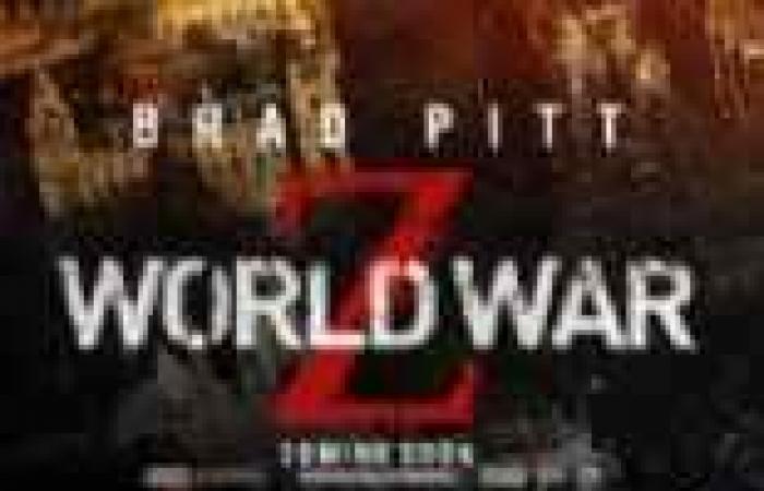 World War Z يحتل المركز الأول عالميا بتحقيق 100 مليون دولار بنهاية الأسبوع الحالي