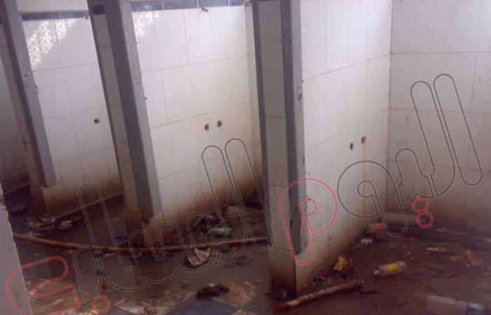 بالصور.. مركز شباب دسوق بدون دورة مياه