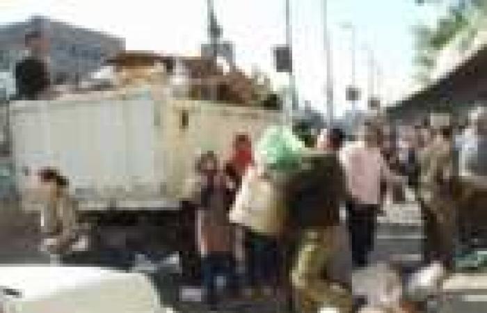حملة أمنية مكبرة ببحيرة المنزلة بدمياط