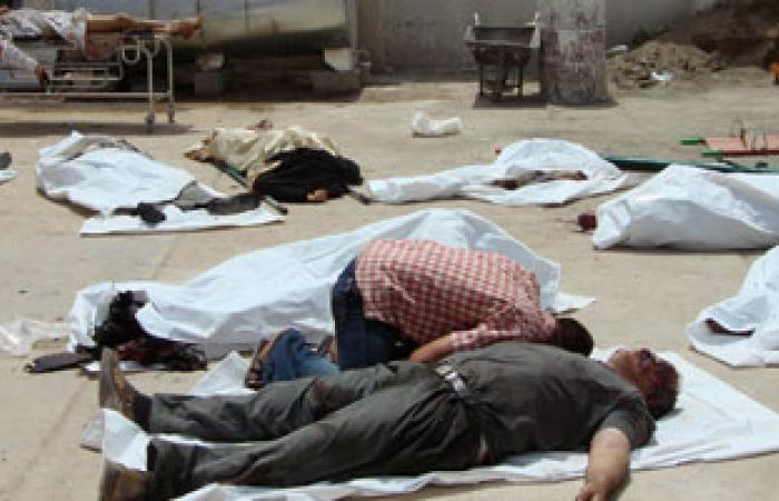 330 قتيلا فى سلسلة تفجيرات واشتباكات بالعراق من بداية يوليو