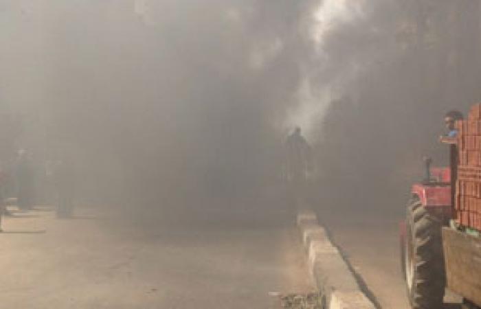 إخماد حريق شب فى مجمع سكنى يضم مقر بنك الصادرات ببورتسودان