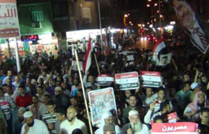 """مسيرة """"كسر الانقلاب """" تجوب شوارع وميادين أسيوط"""