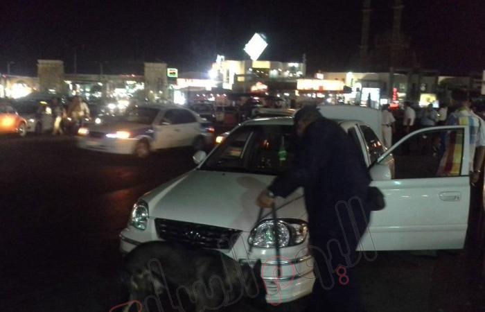 بالصور.. حملة مكبرة على مداخل ومخارج شرم الشيخ لضبط الأمن