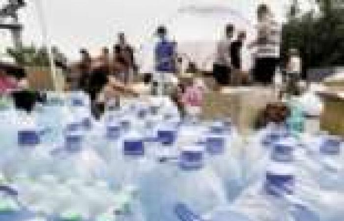 مياه معدنية إسرائيلية تغزو أسواق العريش.. ولا الحوجة لـ«إثيوبيا»
