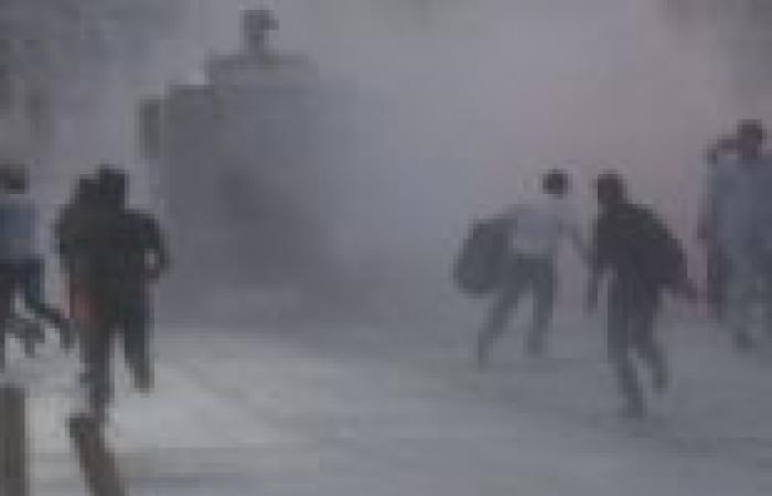 الشرطة التركية تفض اعتصاما في هاطاي
