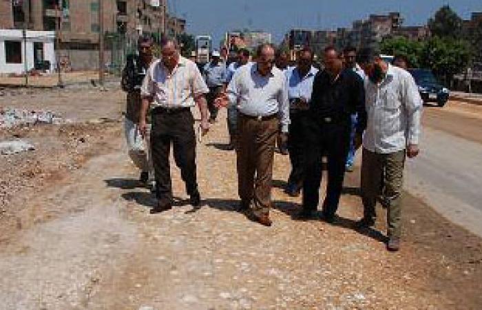 القائم بأعمال محافظ الغربية يتفقد أعمال الرصف والنظافة بالمحافظة