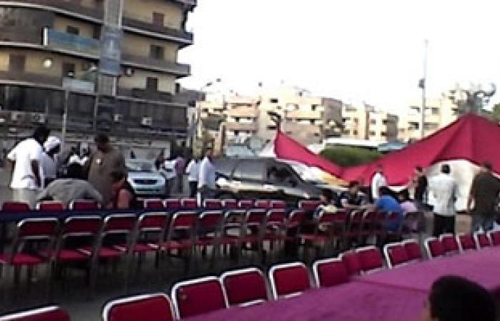 """""""مصر الحديثة"""" بالشرقية يشارك فى إعداد فطار جماعى للمتظاهرين"""
