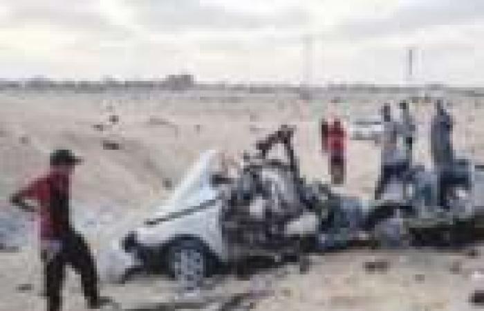مقتل 4 إرهابيين فى انفجار سيارة مفخخة بالعريش.. واستشهاد وإصابة 5 جنود
