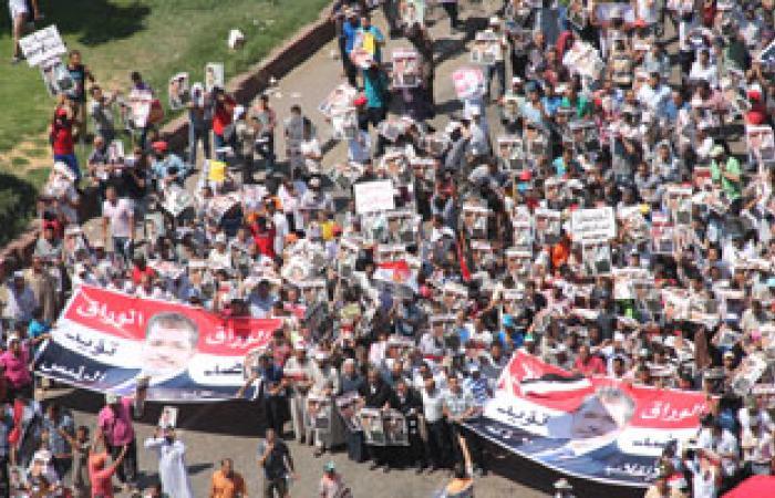 """بدء مسيرة """"جمعة الفرقان"""" لتحالف دعم الشرعية بالفيوم"""