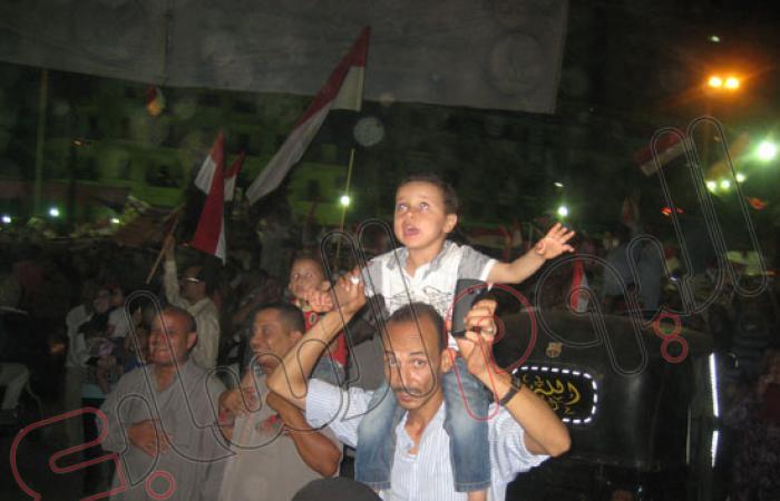 توافد المسيرات على مدينة المنصورة وأعداد المتظاهرين تتخطى المليون