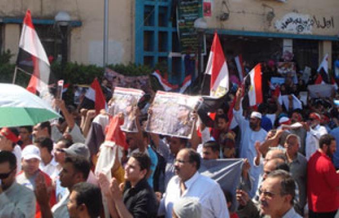 مصر الحرية بالشرقية: الجماهير التى خرجت اليوم تفوق أعداد متظاهرى 30 يونيو