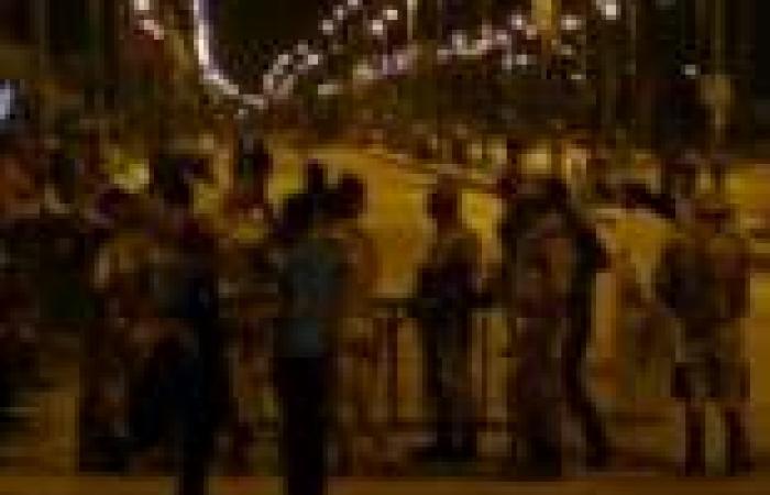 هجوم مسلح على معسكرات الأمن المركزي بالقرب من مطار العريش ومعسكر المساعيد