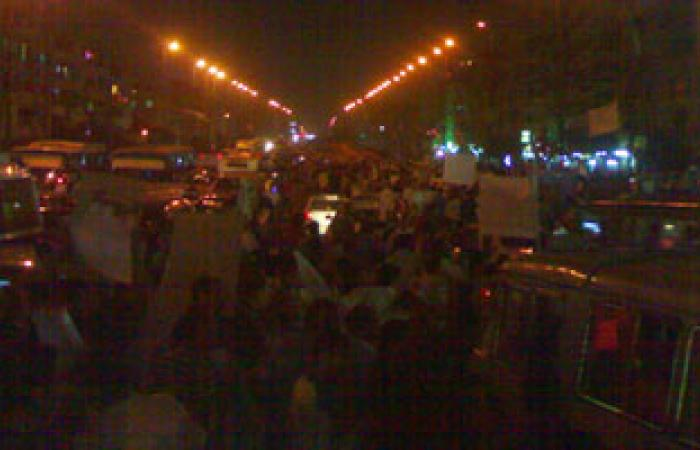 أنصار مرسى ينظمون مسيرة وينددون بمقتل ضحية المنصة بسوهاج