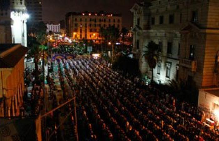 توقف صلاة التراويح بمسجد القائد إبراهيم