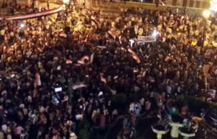 """وقفة احتجاجية """"للقوى الثورية"""" للتنديد بالعنف فى نجع حمادى"""