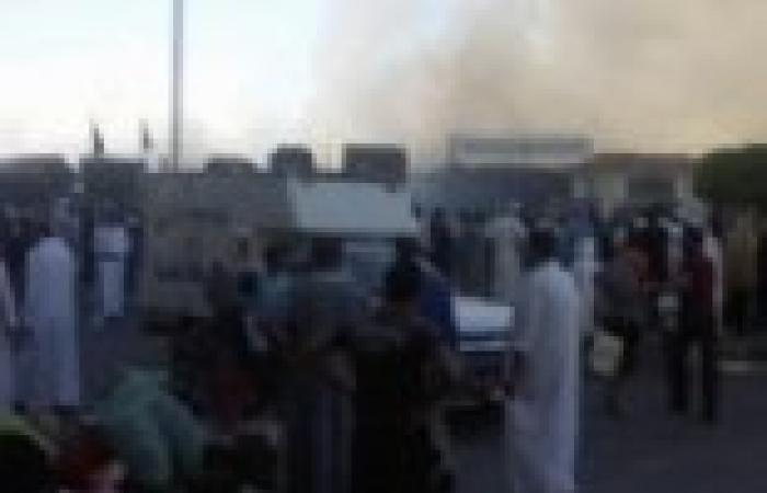 13 جريحا في انفجارين ضخمين استهدفا مجمع المحاكم ومكتب المدعي العام في بنغازي