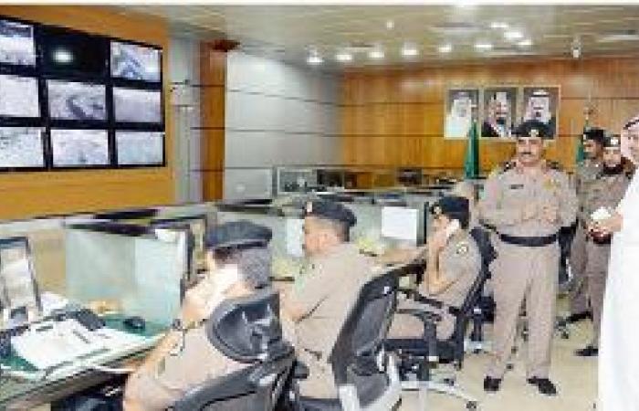 غرفة عمليات «999» تباشر 128 ألف حالة وتحاصر أرباب السوابق