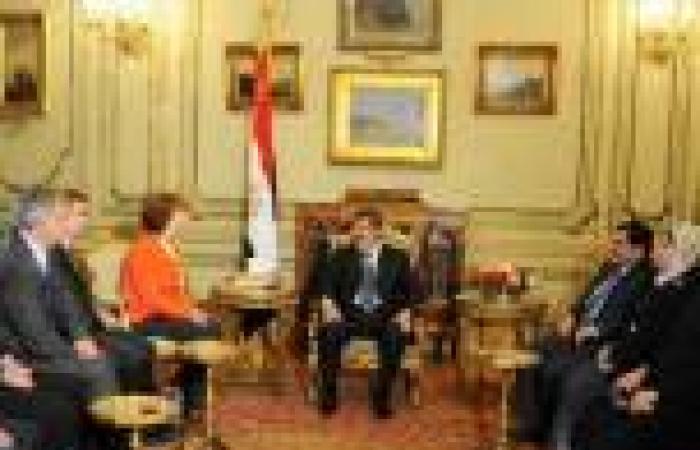 «الفرنسية»: كاثرين آشتون غادرت القاهرة في طريقها للقاء مرسي