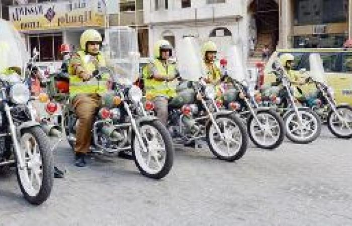 300 فرقة دراجات نارية لمواجهة حرائق المركبات