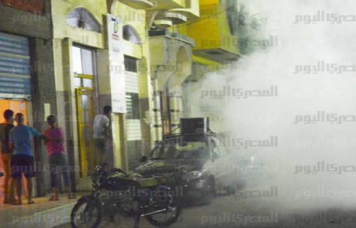 بالصور.. أنصار مرسي يحملون النعوش في المنصورة تنديدًا بأحداث «النصب التذكاري»