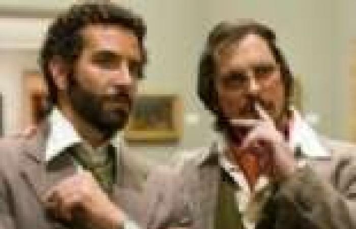 طرح أول صورتين من فيلم كريستيان بيل وبرادلي كوبر الجديد American Hustle