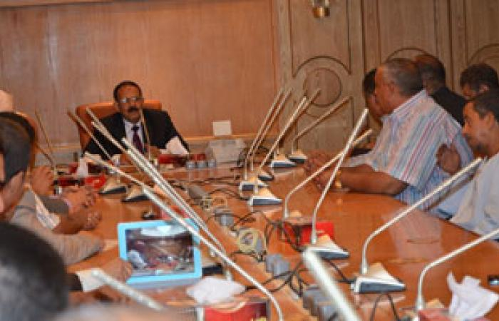 محافظ قنا: زيادة حصة أسطوانات البوتاجاز إلى 40 ألف أسطوانة يوميا