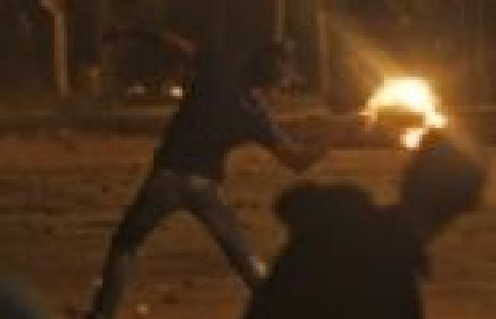 """إصابة 4 من أهالي الهرم في اشتباكات مع مسيرة لـ""""الإخوان"""""""