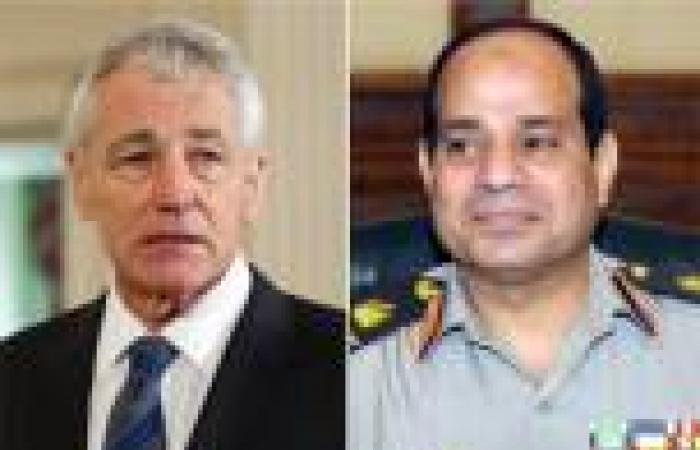 «هاجل»: أمريكا تعتزم المضي قدمًا في إجراء مناورات «النجم الساطع» بمصر