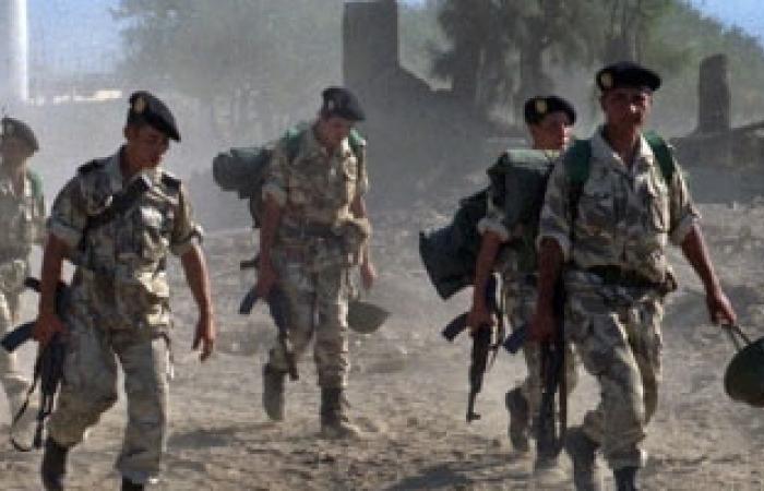 الجيش الجزائرى عزز تواجده على الحدود الشرقية