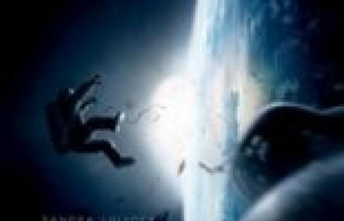 إطلاق ثلاثة مشاهد مدمجة من فيلم Gravity