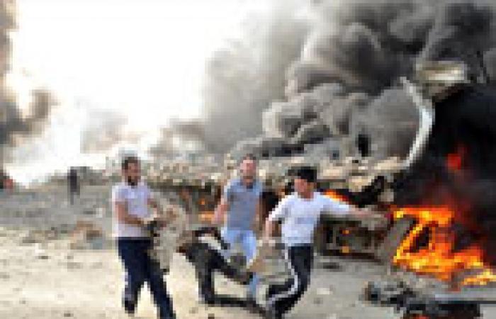 40 قتيلا و100 جريح إثر انفجار مخزن ذخيرة في حمص