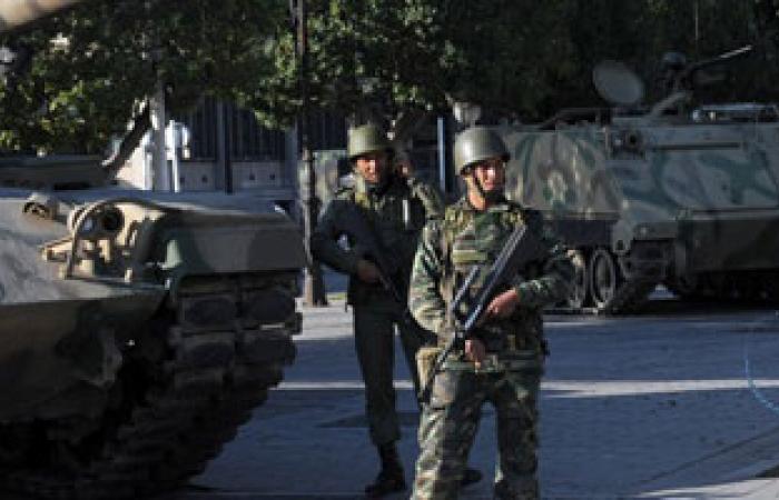 الجيش التونسى يقصف الشعانبى أثناء تعقبه لـ53 عنصرا إرهابيا
