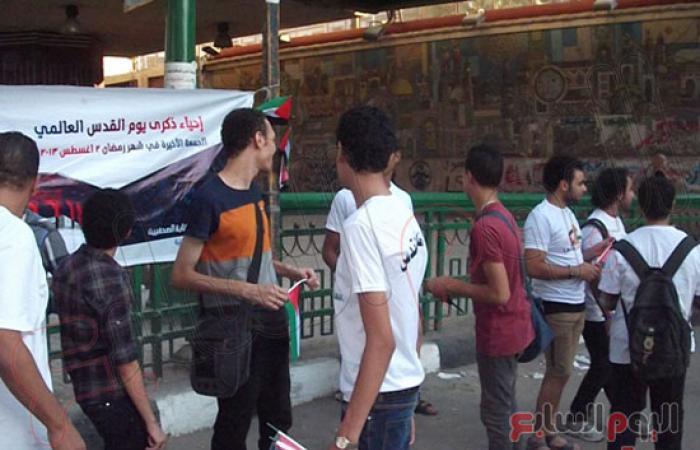 شباب القوى الثورية بأسيوط يحتفلون باليوم العالمى للقدس