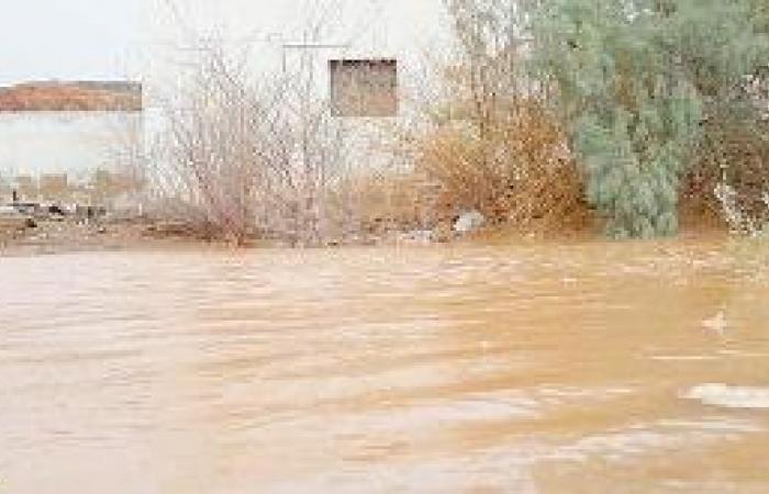 السيول تحاصر منازل «هدى الشام» ولا خسائر