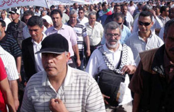 مظاهرات حاشدة فى تونس دعما للحكومة التونسية